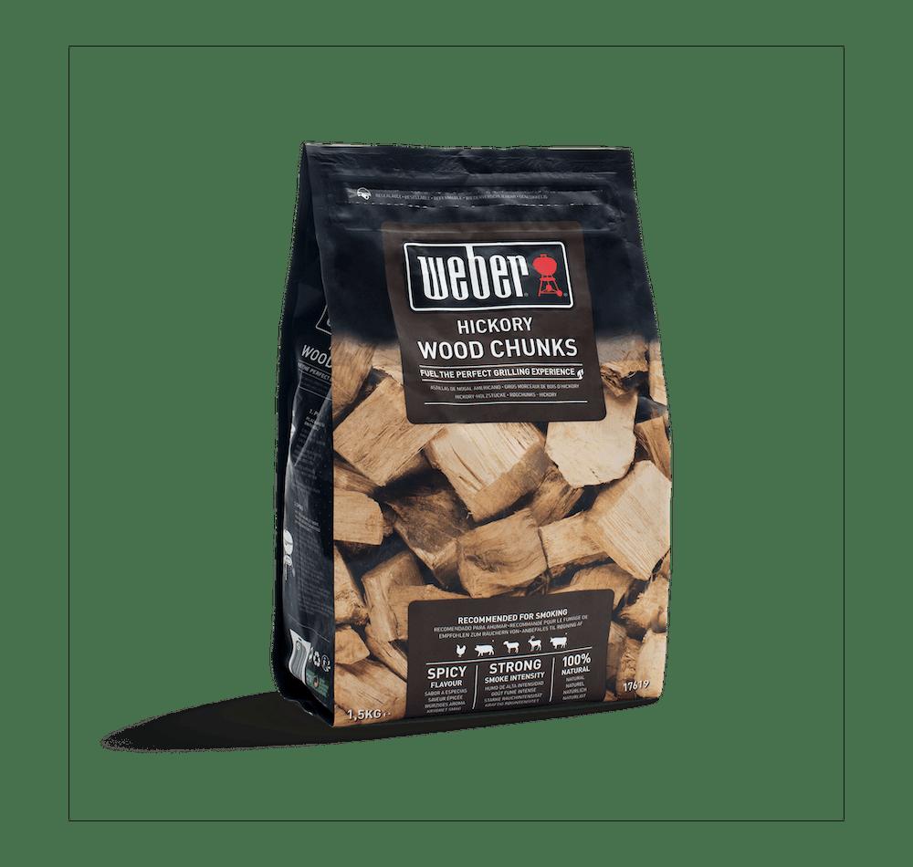 Hickory Wood Chunks image 2