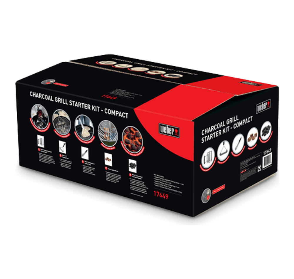 Compact Charcoal Grill Starter Kit View