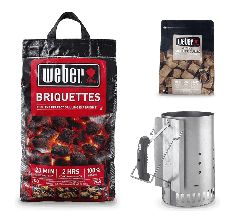 Briquette Starter Kit View