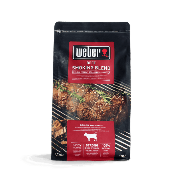 Wood chip blend, beef