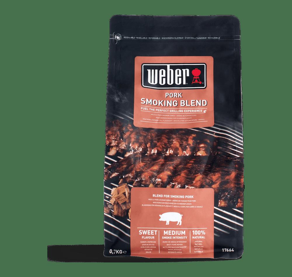 Räucherchips-Mischung für Schweinefleisch View