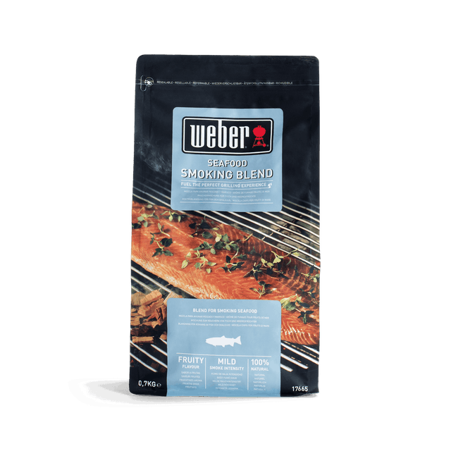Wood chip blend, seafood