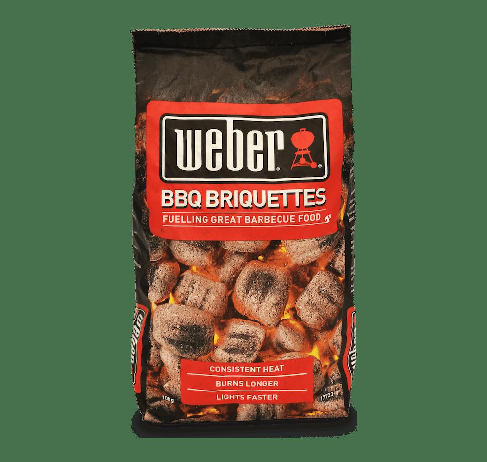 Weber Briquettes View