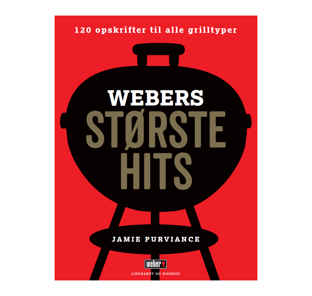 WEBERS STØRSTE HITS – KOGEBOG  View