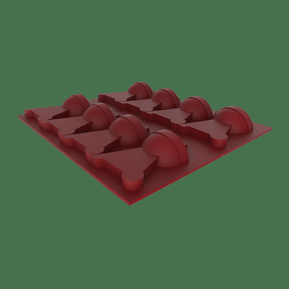 Weber Eiswürfelform