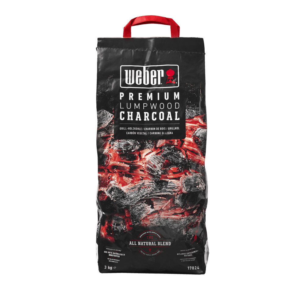 Weber Premium Lumpwood drevené uhlie View