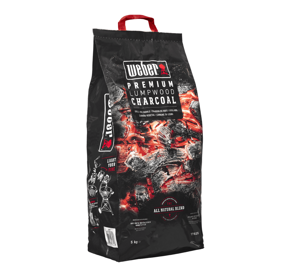 Carbón vegetal Weber Premium View