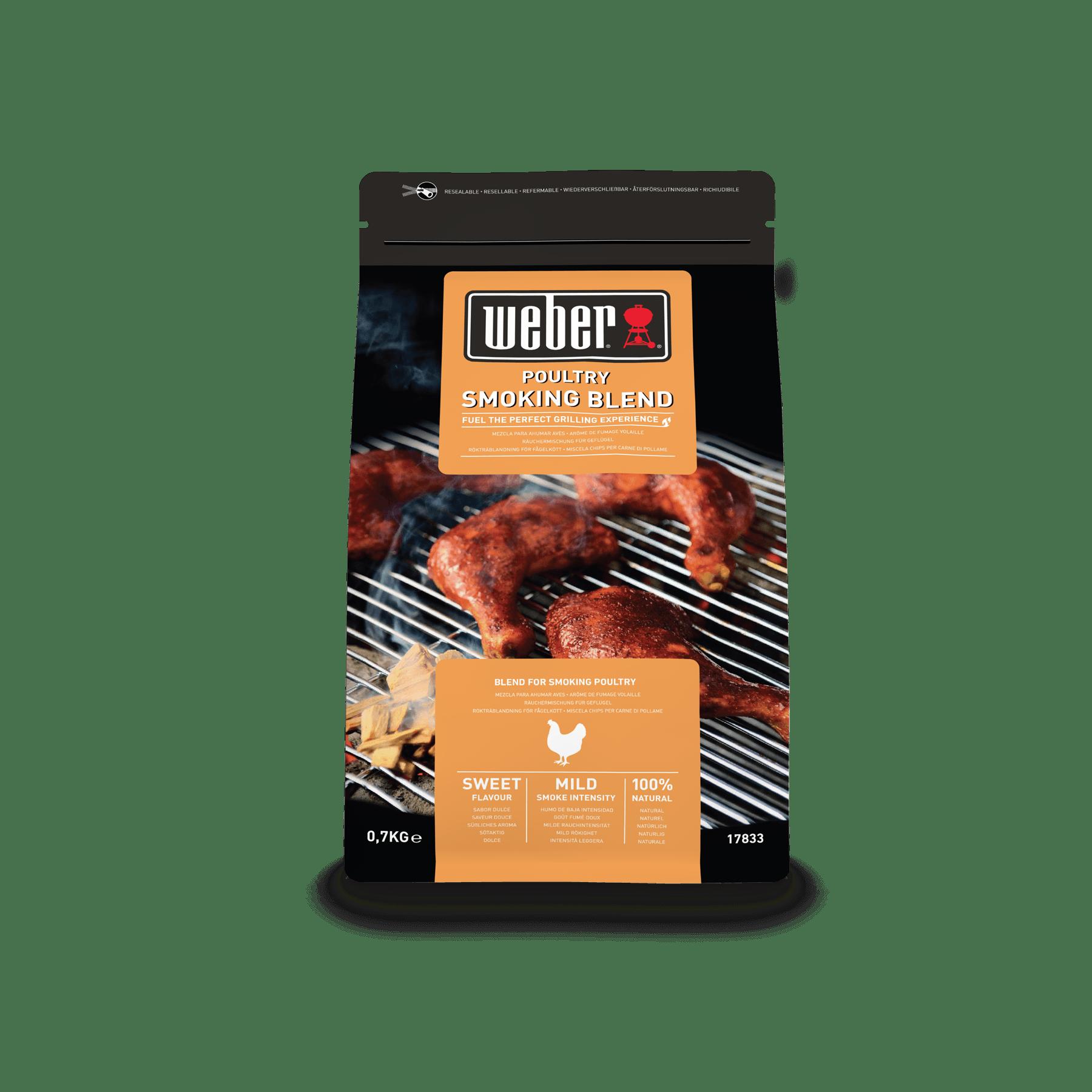 Räucherchips-Mischung für Geflügelfleisch