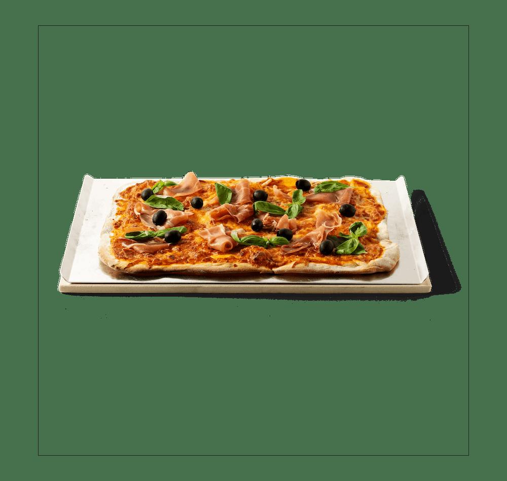 Pierre à pizza View