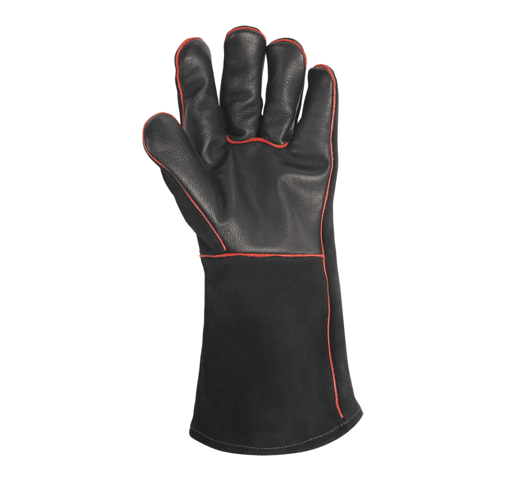 BBQ Leather Gloves View