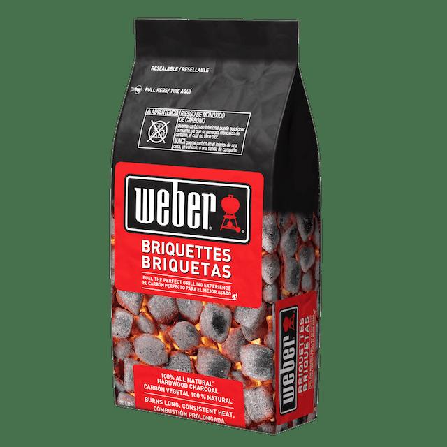 Briquetas Weber