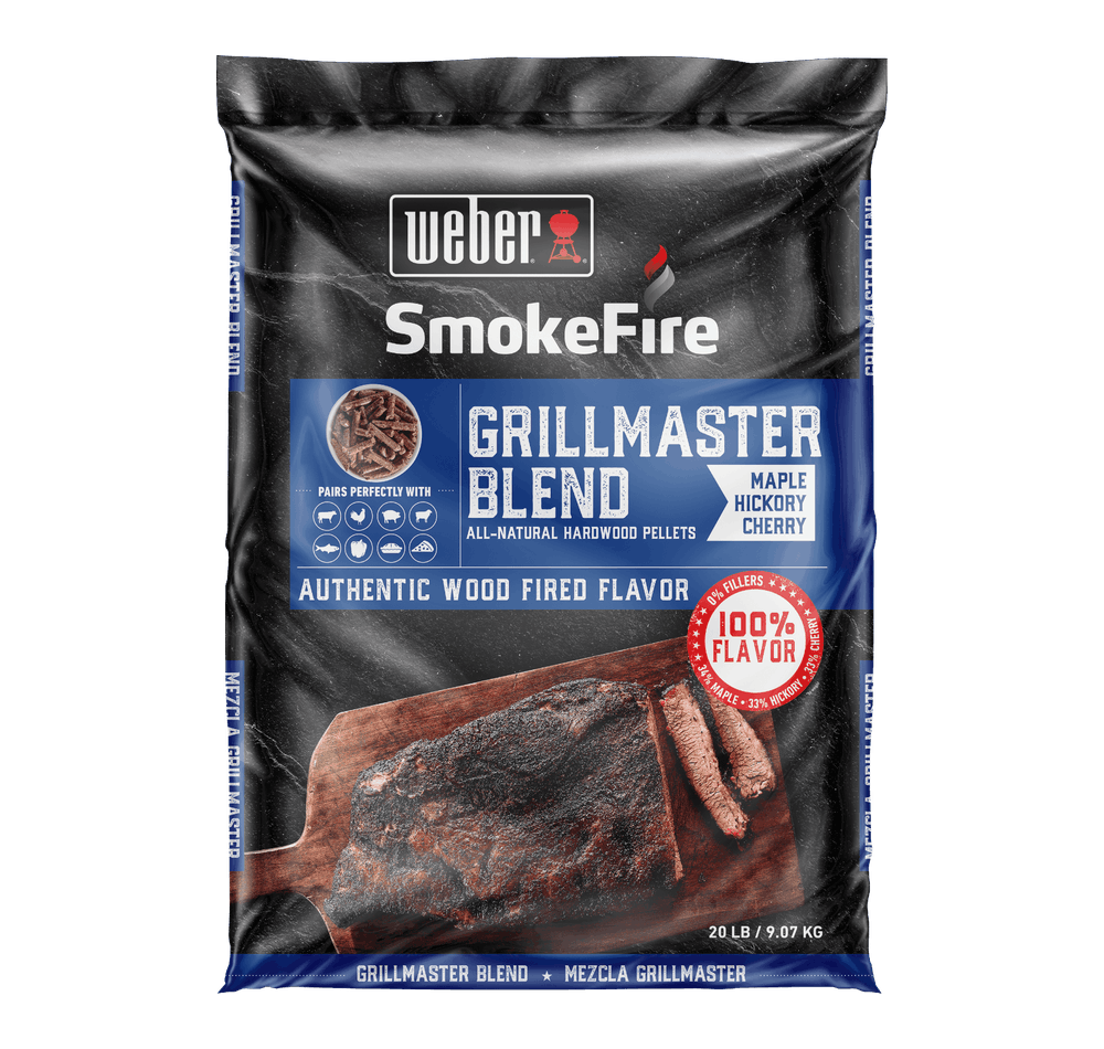 GrillMaster Blend All-Natural Hardwood Pellets View