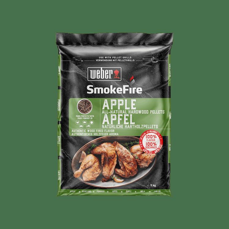 100 % natürliche Holzpellets Apfelholz