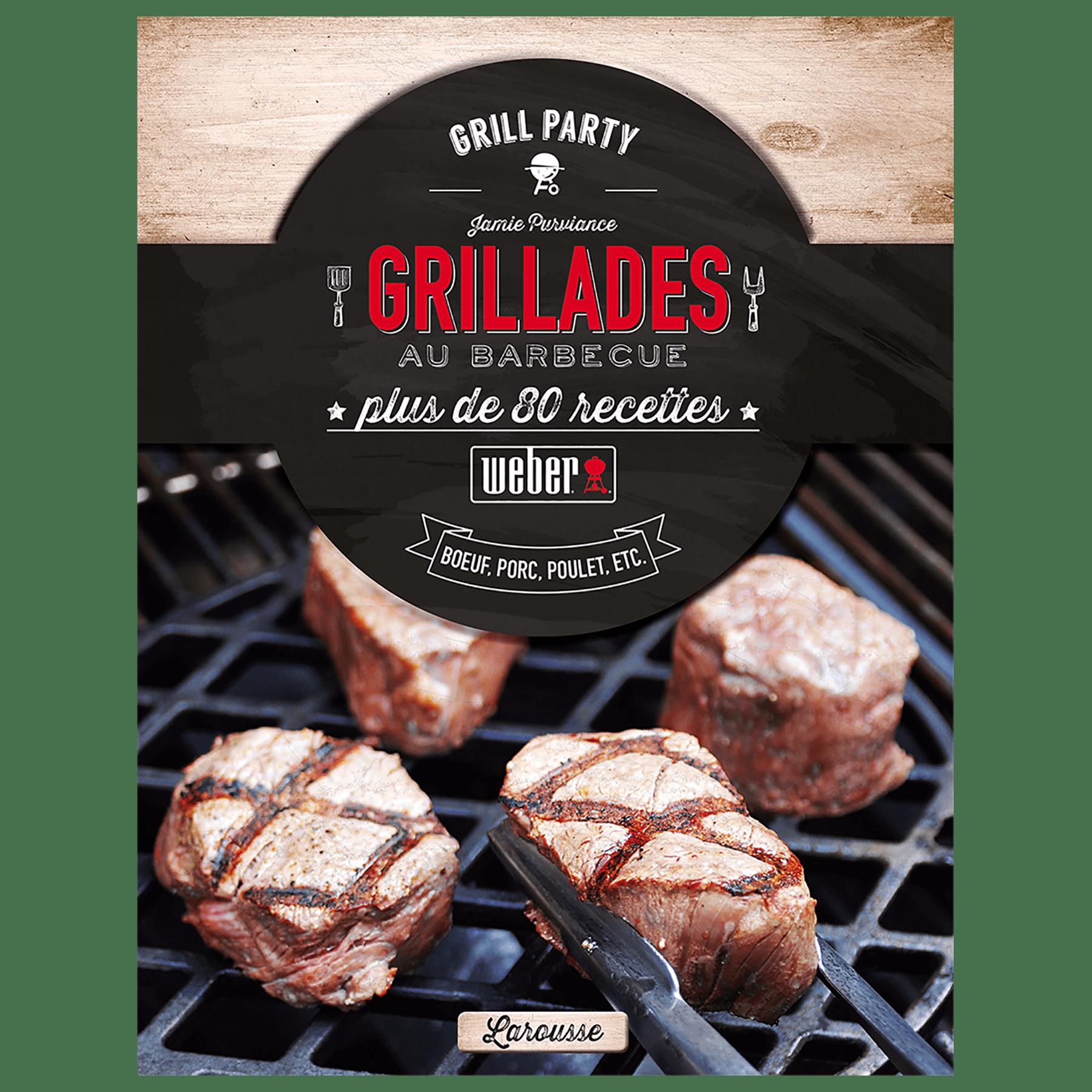 """Livre de recettes """"Grillades au barbecue"""""""
