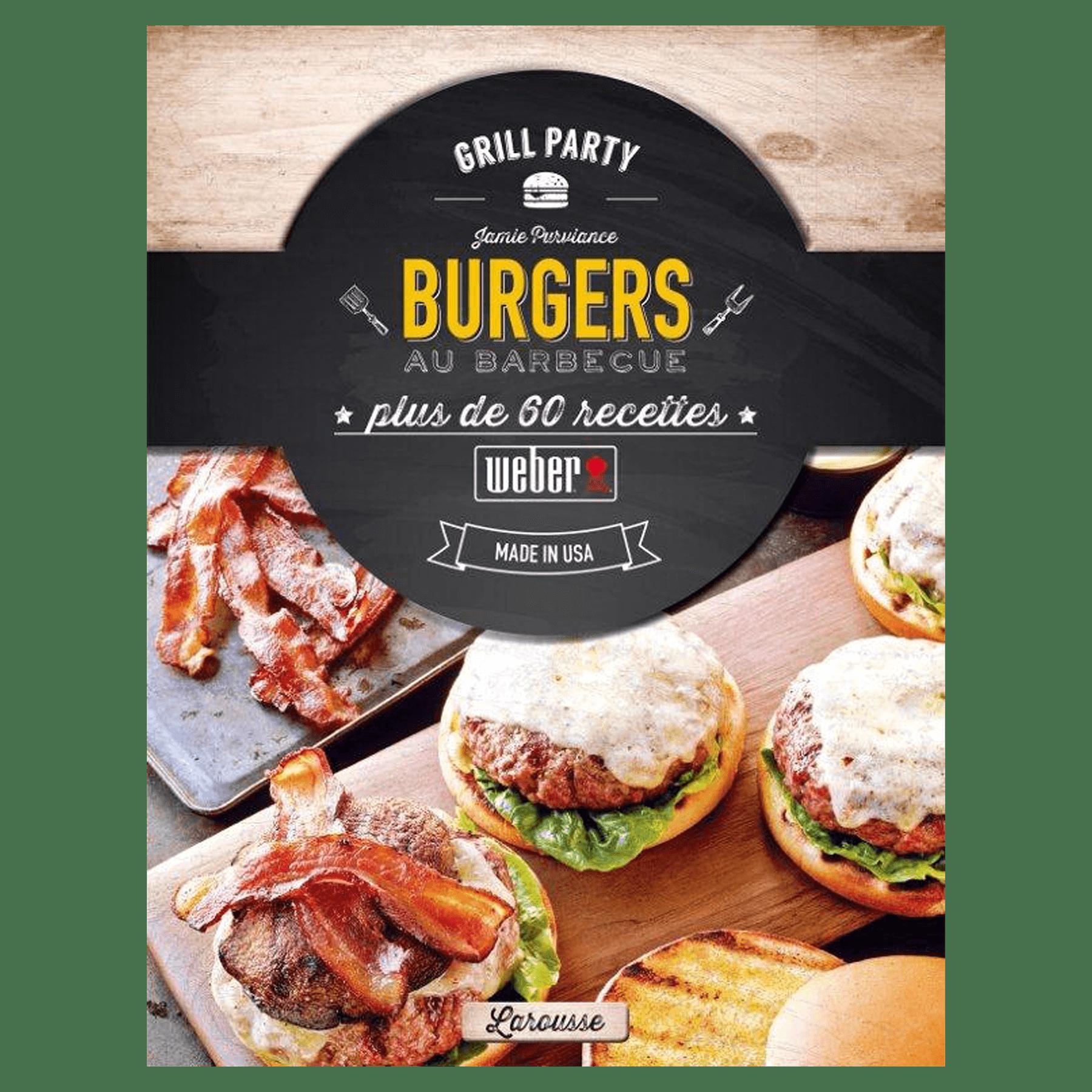"""Livre de recettes """"Burgers au Barbecue"""""""