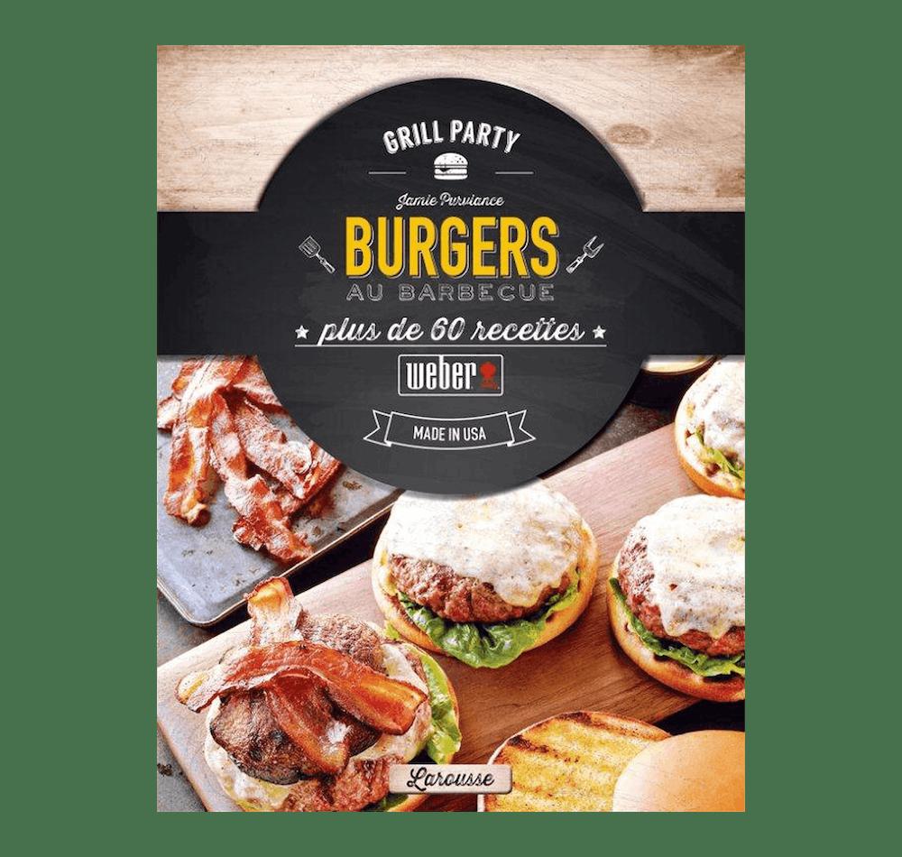 """Livre de recettes """"Burgers au Barbecue"""" View"""