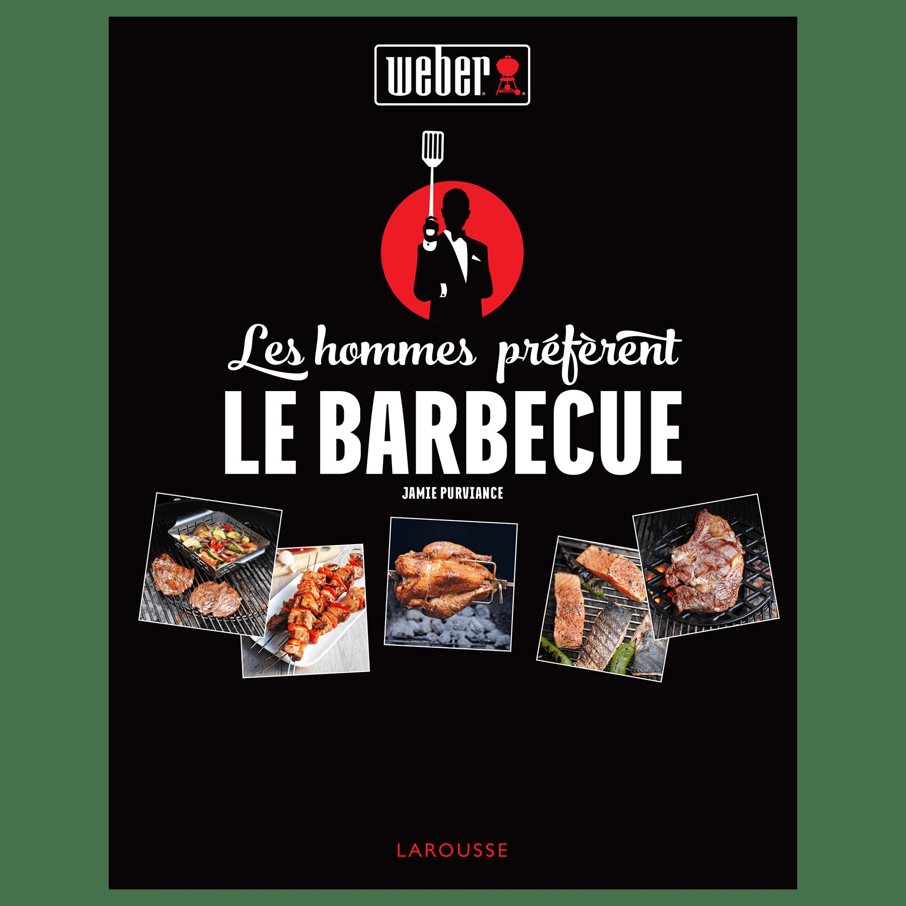"""Livre de recettes """"Les hommes préfèrent le barbecue"""""""