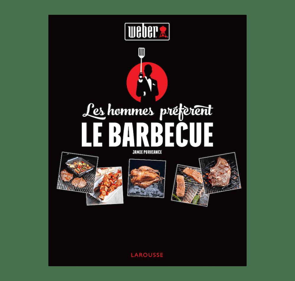 """Livre de recettes """"Les hommes préfèrent le barbecue"""" image 1"""
