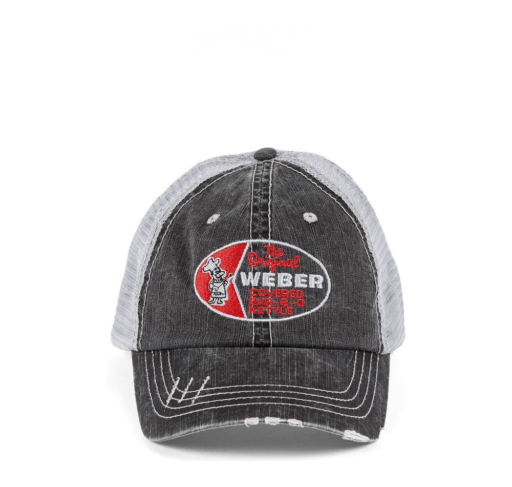 Topper Hat - Gray View
