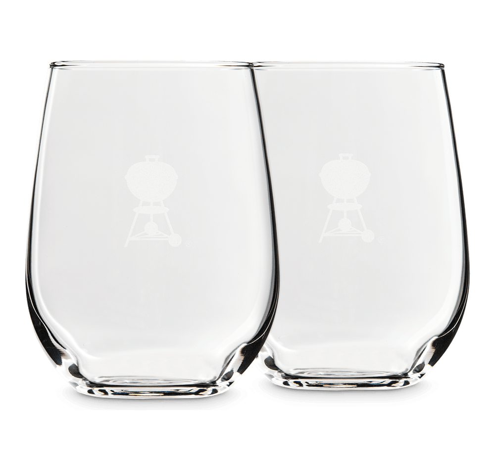 Stemless Wine Glasses – 2 Piece Set image 1