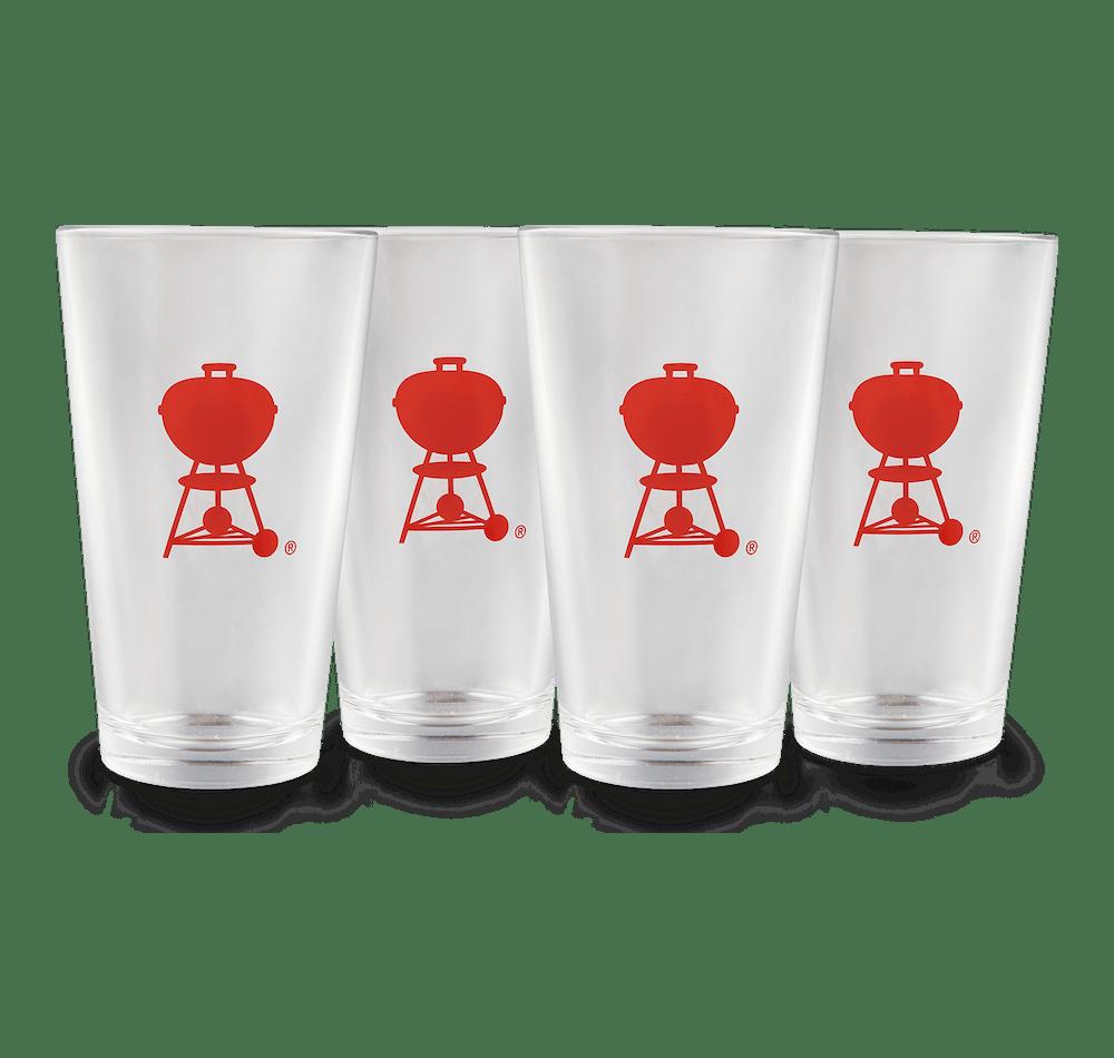 Pint Glasses – 4 Piece Set image 1