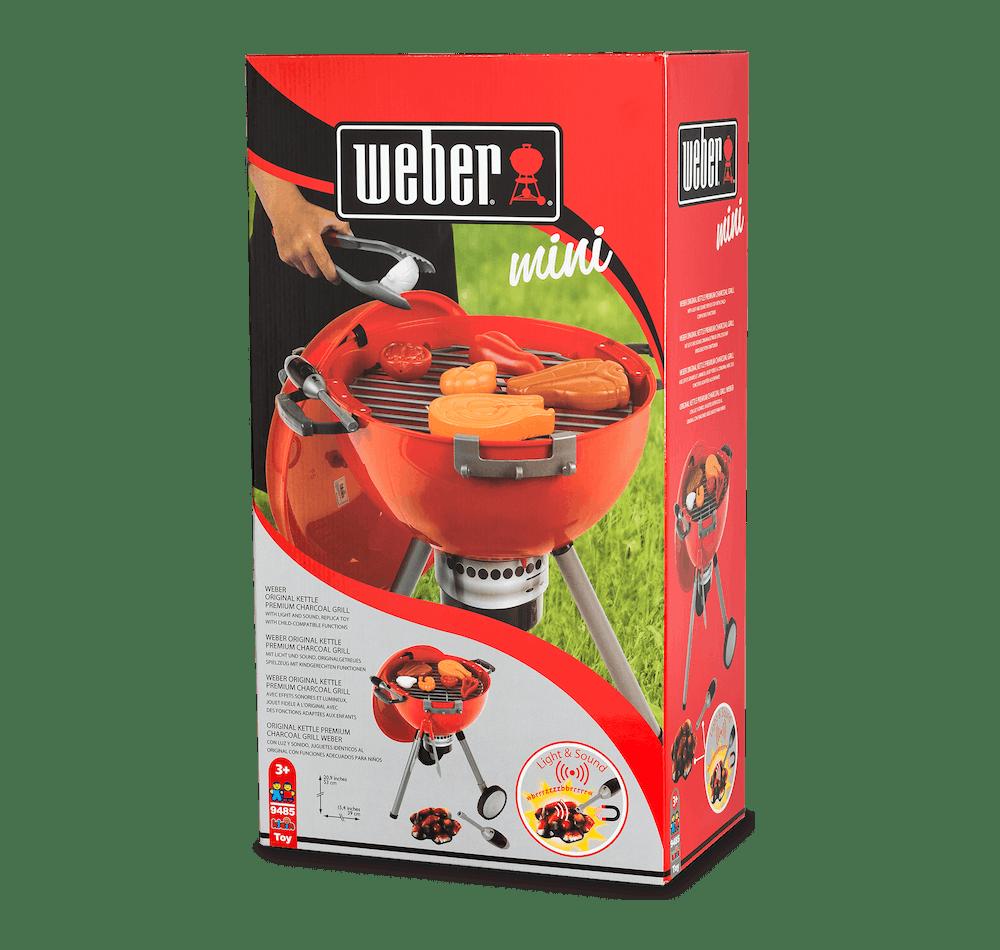 Asador Weber® de Juguete  Original Kettle (Rojo) image 3