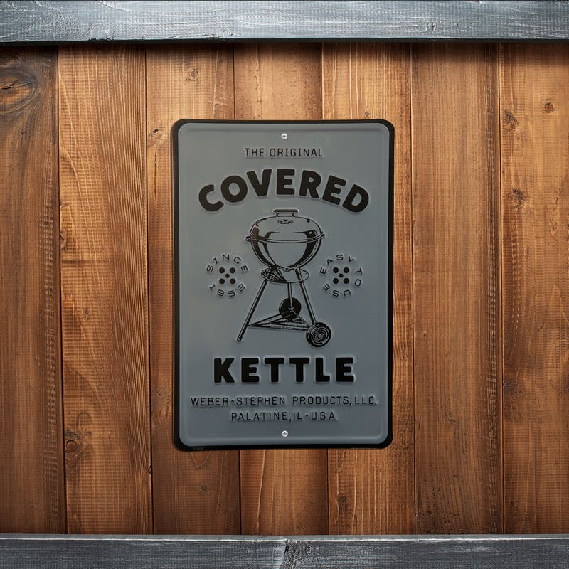 Limited Edition Vintage Covered Kettle Metal Sign image number 1