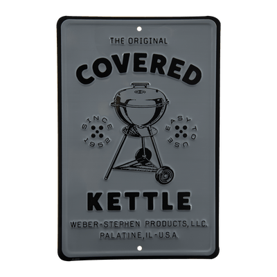 Limited Edition Vintage Covered Kettle Metal Sign