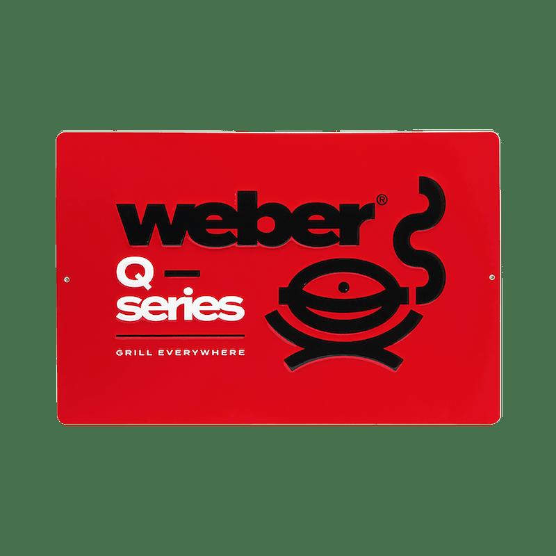 Limited Edition Weber Q Series Metal Sign image number 0