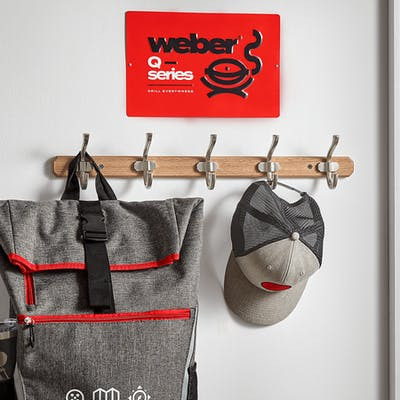 Limited Edition Weber Q Series Metal Sign