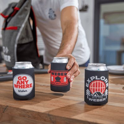 Limited Edition Weber Can Coolers