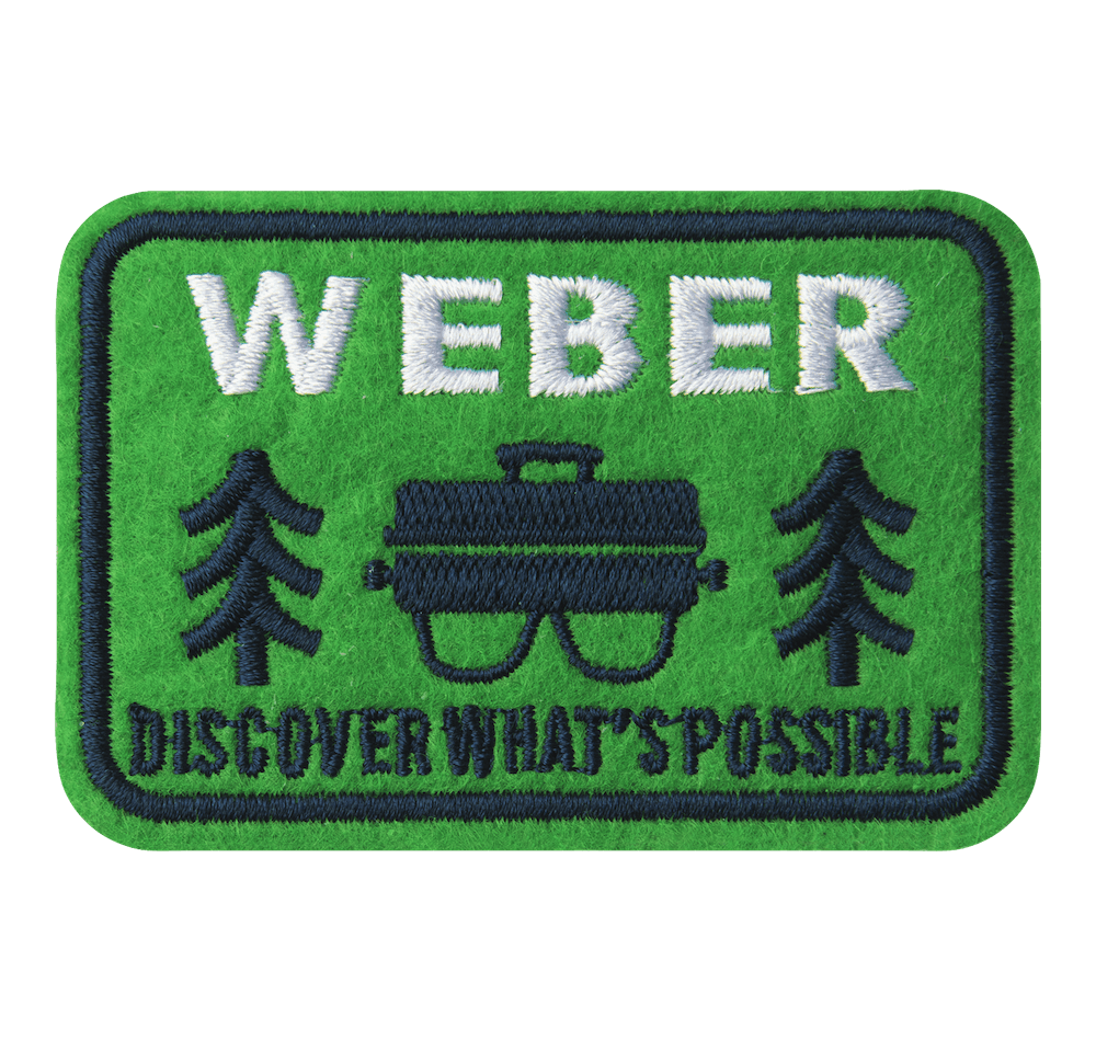 Limited Edition Weber Outdoor Grill Patch View
