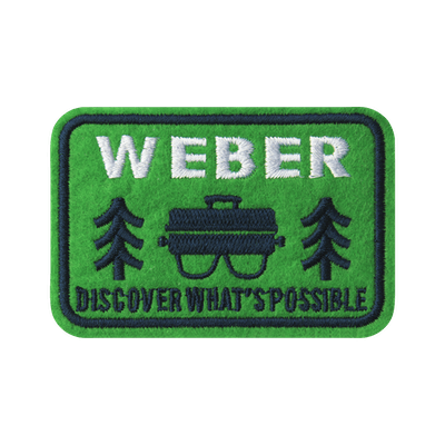 Limited Edition Weber Outdoor Grill Patch