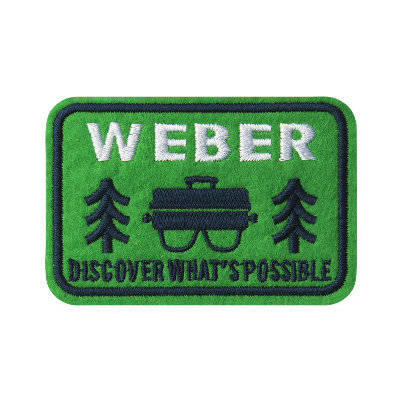 Limited Edition Weber Outdoor Grill Patch image number 0