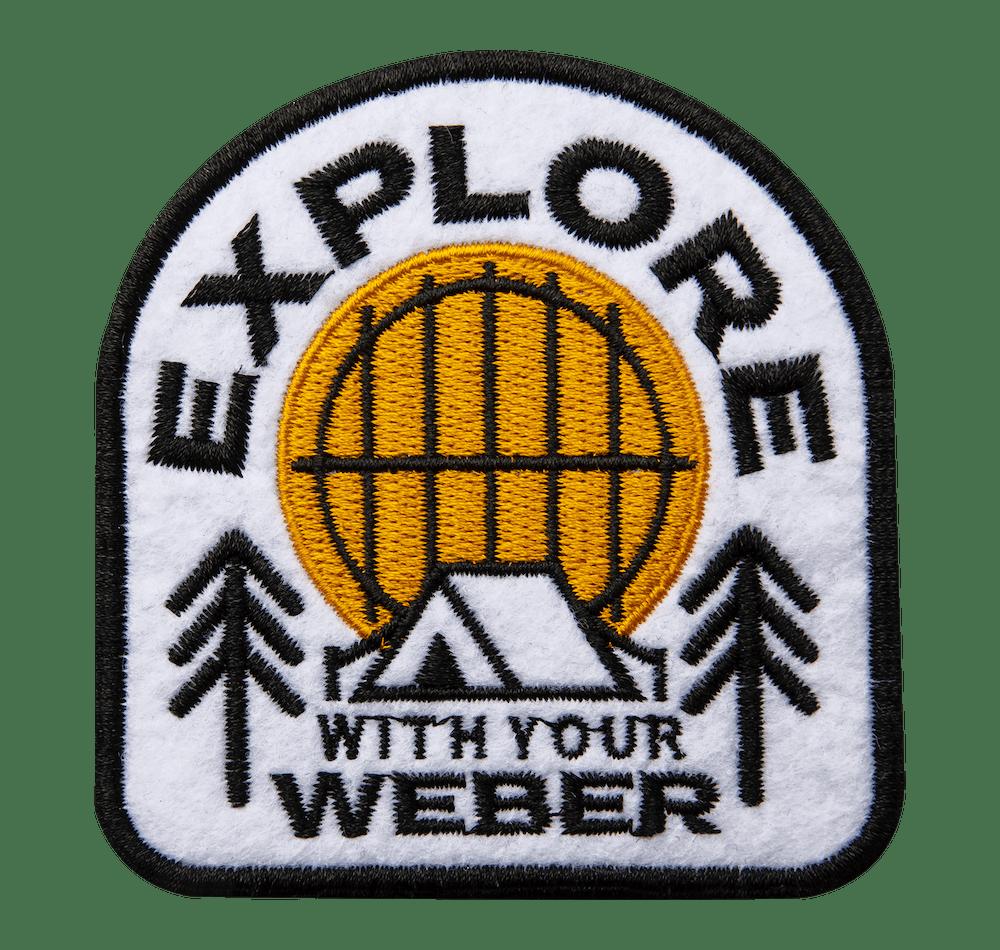 Écusson «Explore» Weber édition limitée View