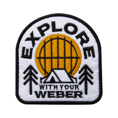 Limited Edition Weber Explore Patch