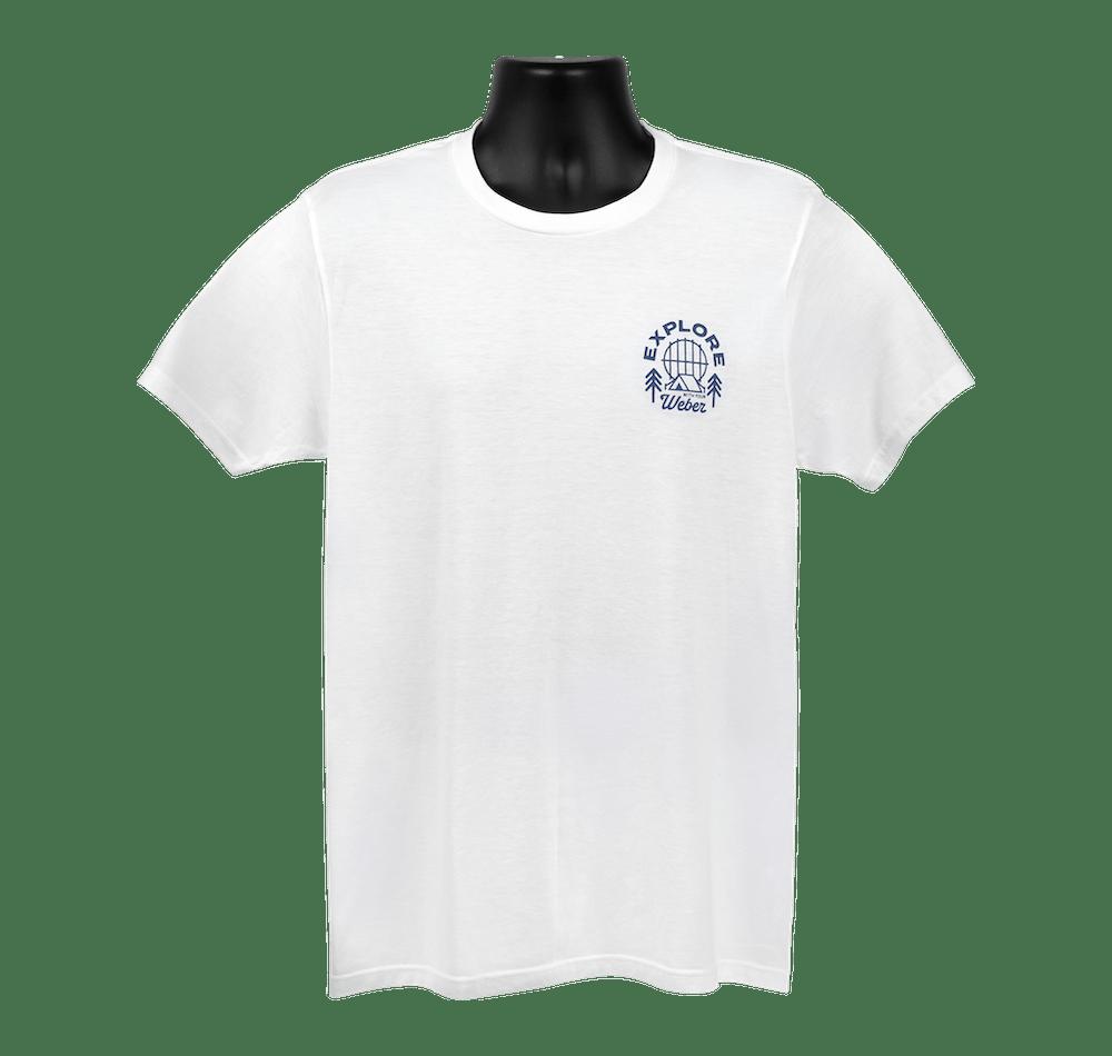 T-shirt «Explore» Weber édition limitée View