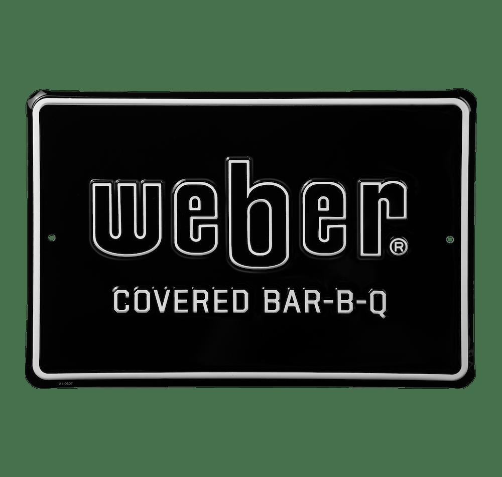 Panneau métallique «Covered Bar-B-Q» Weber en édition limitée View