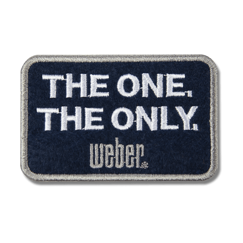 Limited Edition Weber The One The Only Patch image number 0