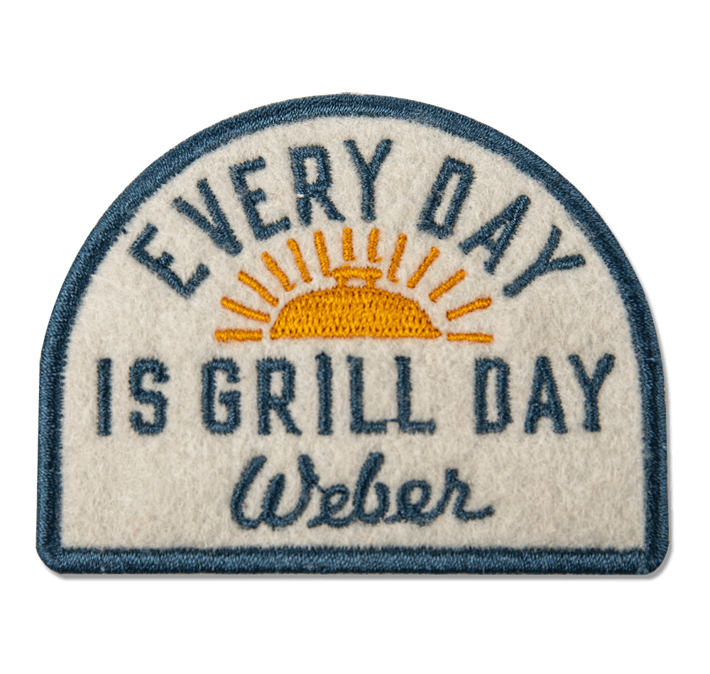 Limited Edition Weber Every Day is Grill Day Patch View