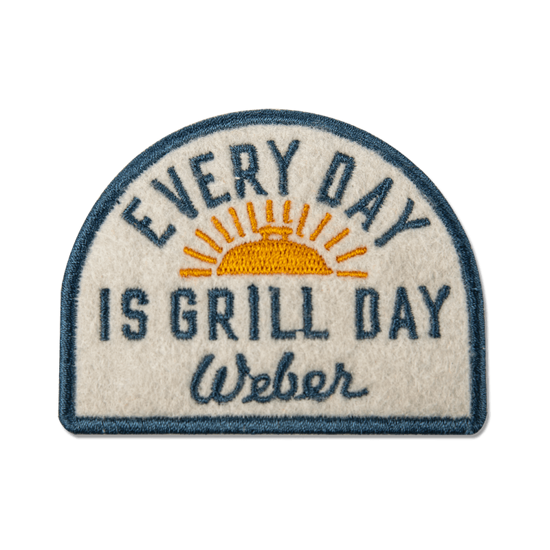 Limited Edition Weber Every Day is Grill Day Patch image number 0