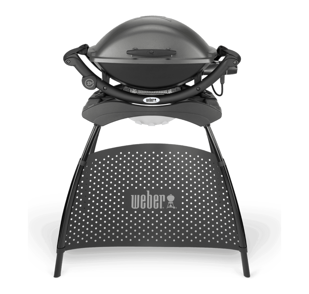 Weber® Q 2400 Electric Grill with Stand View