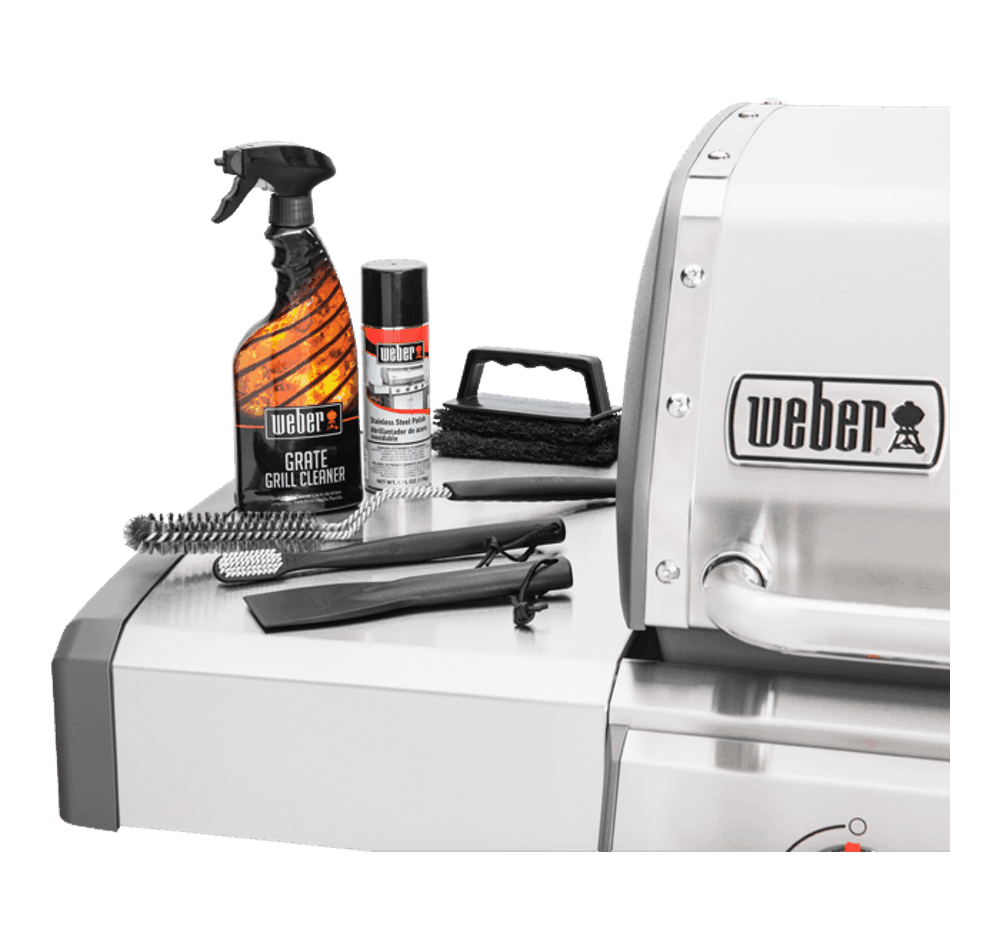 Weber® Stainless Steel Grill Maintenance Kit View