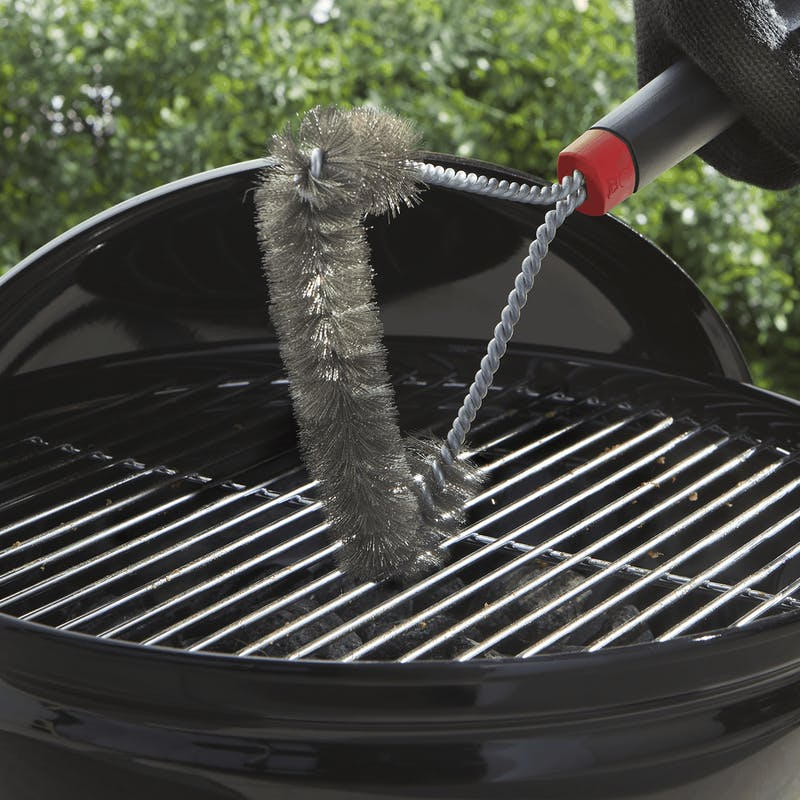 "Grill Brush - 12"" Three-Sided image number 2"