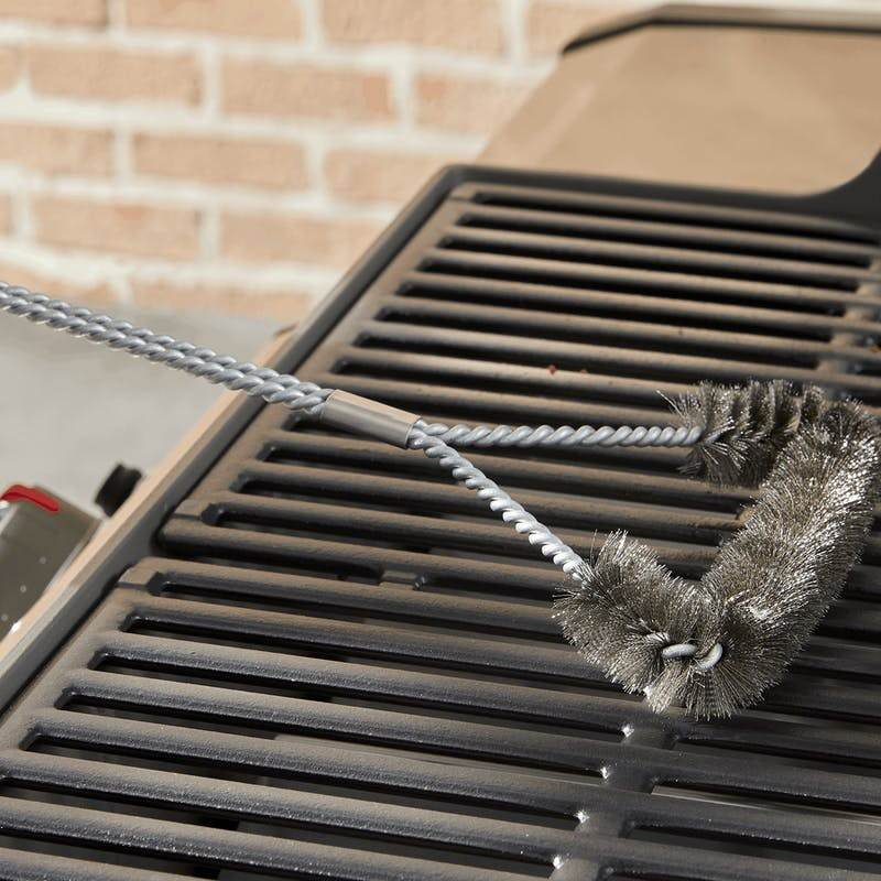 """Grill Brush - 18"""" Three-Sided image number 1"""