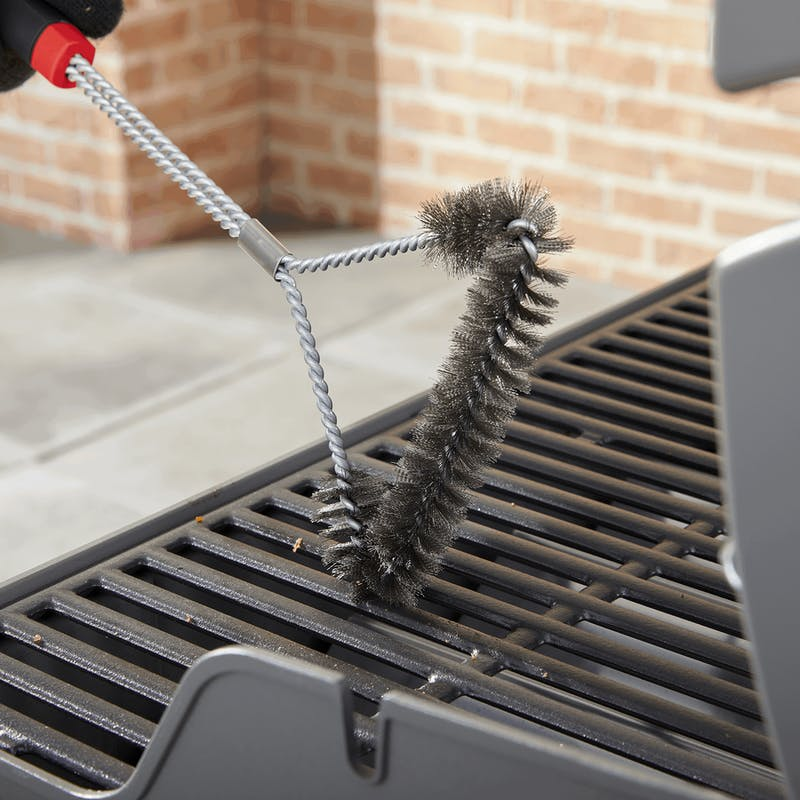"""Grill Brush - 18"""" Three-Sided image number 2"""