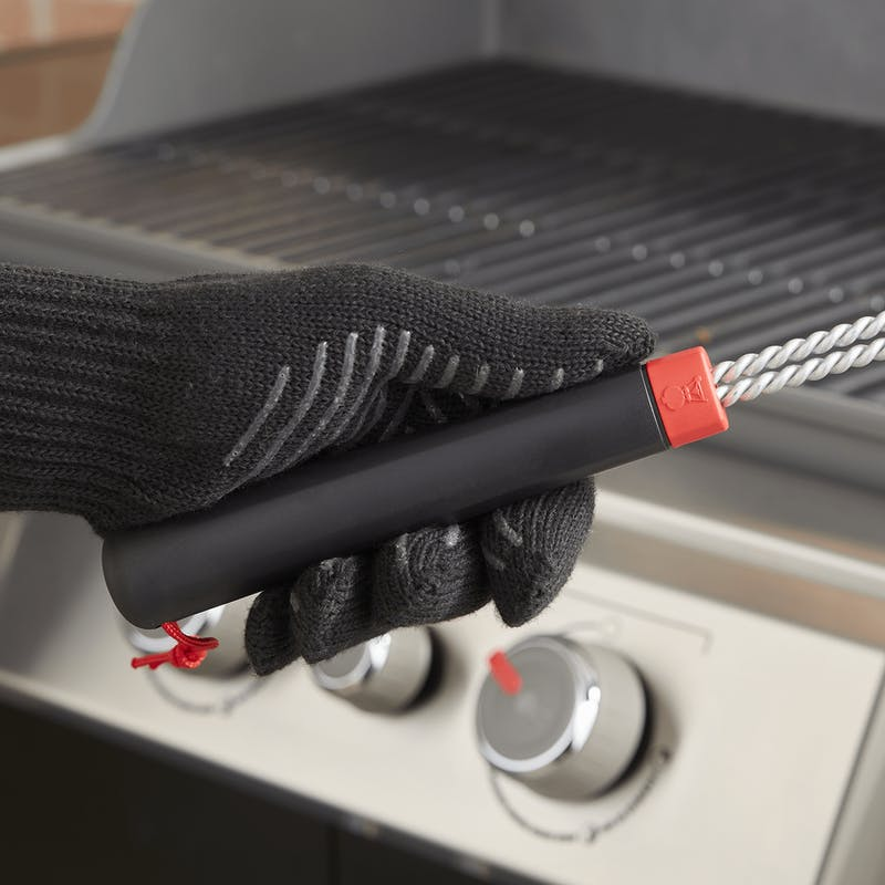 """Grill Brush - 18"""" Three-Sided image number 3"""