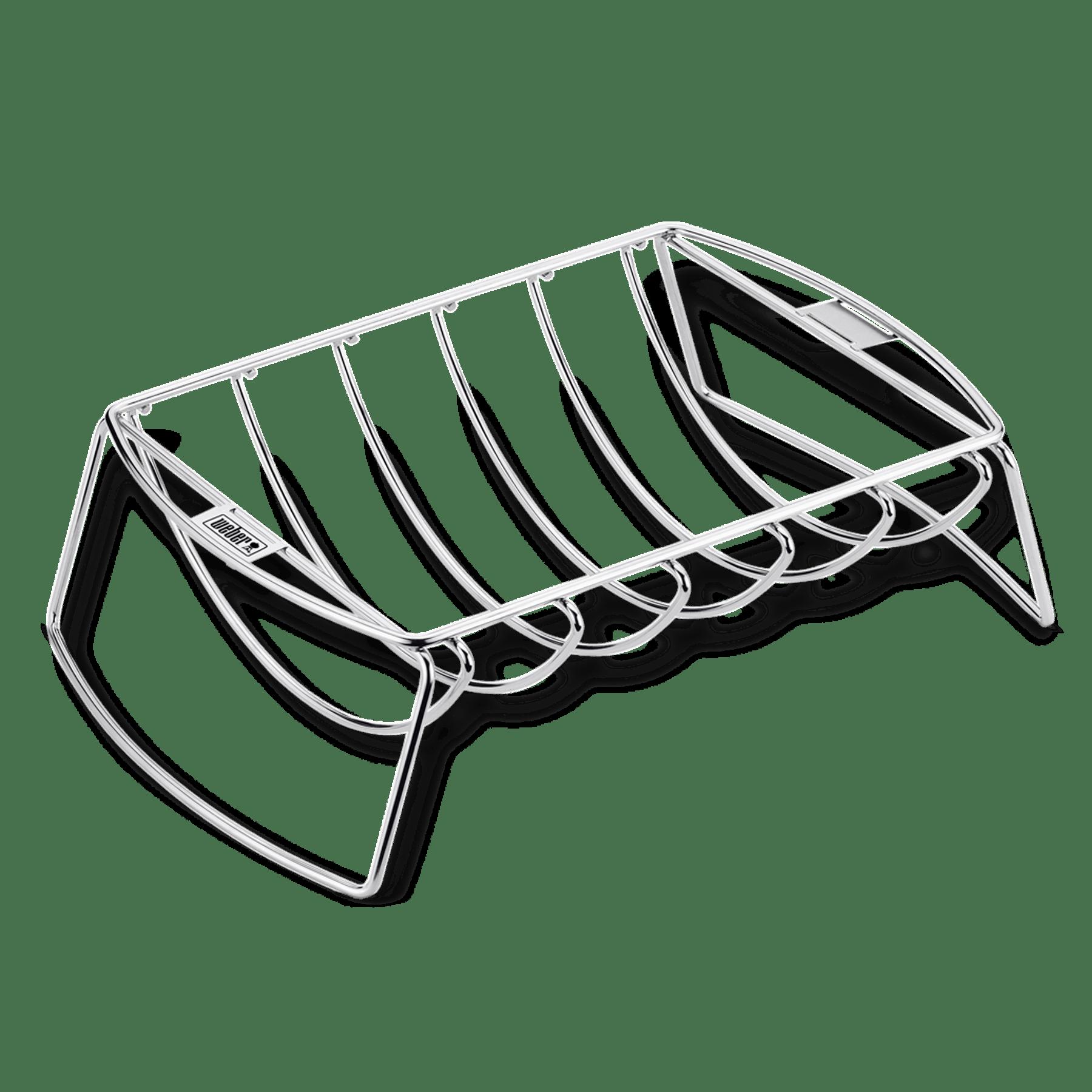 Premium-Spare-Rib-Halter & Bratenkorb
