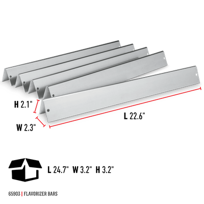 Flavorizer Bars - Most Genesis Silver/Gold & 2007-12 Spirit E/SP/EP-310/320