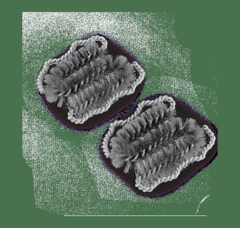 Cepillo para parrillas Deluxe (cabezas de repuesto) image 1